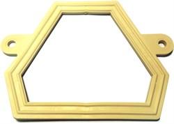 Прокладка (С)         ( прокладка фигурная ПВХ белое для унитазов  производства Sanita, Самара) - фото 4743