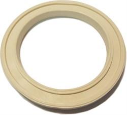 Прокладка (Ч)          (кольцо ПВХ белое для унитазов  производства Santek Чебоксары) - фото 4748