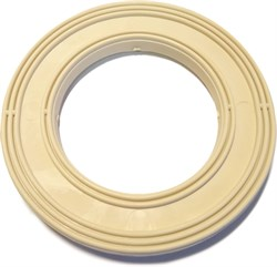 Прокладка (Е)           (кольцо ПВХ белое для унитазов  производства Уралкерамика, Екатеринбург) - фото 4753