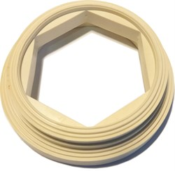 Прокладка (КК)         (кольцо ПВХ белое для унитазов  производства ROSA, Киров) - фото 4754