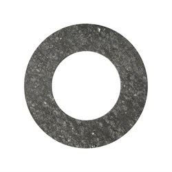 Прокладка паронитовая  накидной гайки 1  1\4 дюйма (32*45 мм.) - фото 4853