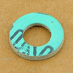 "Прокладка из безасбестового паронита 1\2"" дюйма (10,5 *19 *2 мм.) - фото 4860"