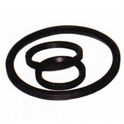 Кольцо трубы ПВХ 40 резиновое - фото 4966