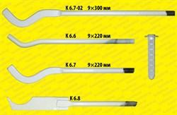 Кронштейн штыревой «ножевой» с дюбелем (9*220 мм.)                    к 6.8   - фото 5091