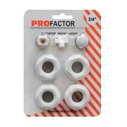 Монтажный комплект Pro Factor 3\4 дюйма без кронштейнов - фото 5109