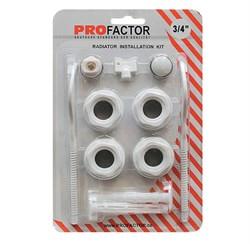 Монтажный комплект  Pro Factor  3\4  дюйма с двумя кронштейнами - фото 5111