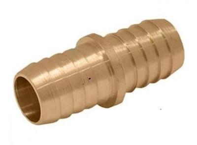 Штуцер соединительный  3/4 (ёлочка с двух сторон для соединения кусков шлангов) - фото 5397