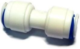 Соединитель прямой для трубки 6 мм. - фото 5626