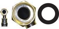 Резиновая прокладка  1 дюйм (19*30*2 мм.) - фото 5725