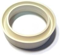 Прокладка (Ф)        (кольцо ПВХ белое для унитазов  производства Ст. Оскол, Лобня)
