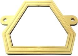 Прокладка (С)         ( прокладка фигурная ПВХ белое для унитазов  производства Sanita, Самара)