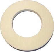 Прокладка (ККпс)    (прокладка из пеносевилена для унитазов производства ROSA Премьер и Комфорт 118*68*8)