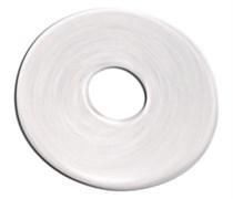 Прокладка арматуры Alcaplast из белой вакуумной резины (30*65*2 мм.)