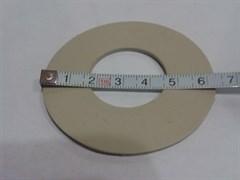 Прокладка арматуры Poland из белой вакуумной резины (25*70*2 мм.)
