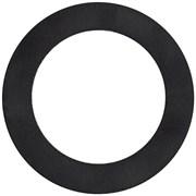Прокладка  резиновая для сифона нержавеющей мойки (42*70*2 мм.) (заг 3\4 дюйма , 25*40 мм., труба 3\4 дюйма - 40*54 мм. чугун)