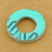 "Прокладка из безасбестового паронита 1\2"" дюйма (10,5 *19 *2 мм.)"