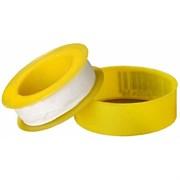 ФУМ-лента желтая «большая» ( намотка 10-12 м., толщина 0,05 мм. )