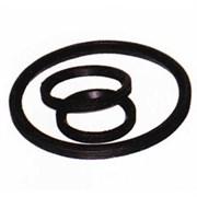 Кольцо трубы ПВХ 200 резиновое