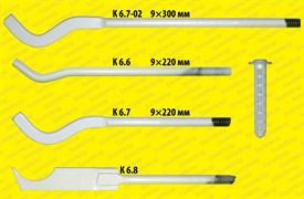 Кронштейн штыревой «ножевой» с дюбелем (9*220 мм.)                    к 6.8