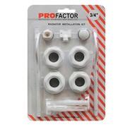 Монтажный комплект  Pro Factor  3\4  дюйма с двумя кронштейнами