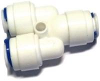 Тройник для трубки 6 мм под 180 градусов
