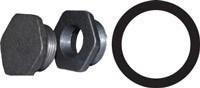 Резиновая прокладка под ниппель чугунного радиатора, (42*54*2 мм.)