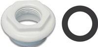 Паронитовая прокладка  1 1\4 дюйма (33*42 мм. для ниппеля и заглушки алюминиевого радиатора)